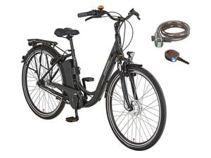 Prophete E-Bike Alu-City »Navigator City Expedition«,  28 Zoll, 100 km Reichweite