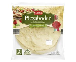 CUCINA®  2 Italienische Pizzaböden