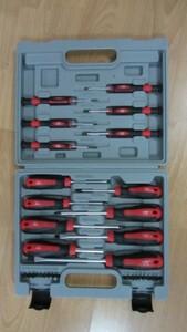 TrendLine Schraubendreher-Set ,  32-teilig im Plastikkoffer