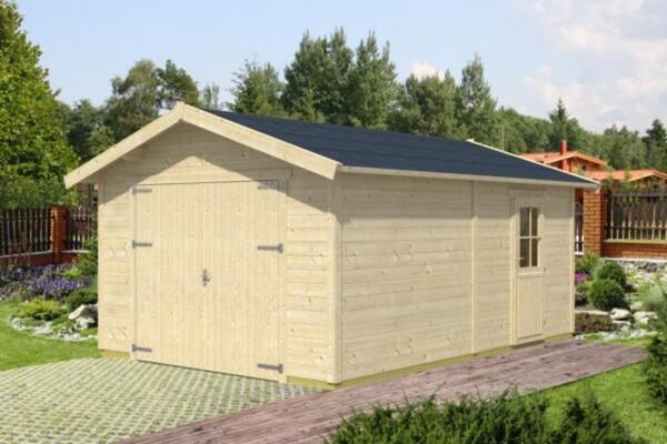 SKAN HOLZ Holzgarage Visby Holzgarage ,  für 1 Auto inkl. Tor und Tür