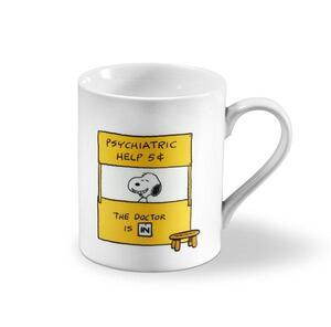 Snoopy Kaffeebecher 'Psychiatric Help'