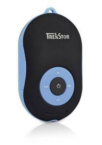 TrekStor® i.Beat soundboxx MP3-Player Blau Bluetooth®, Lautsprecher, spritzwassergeschützt