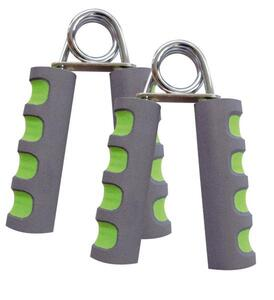 Handmuskeltrainer, 2er Set, anthrazit-limegreen