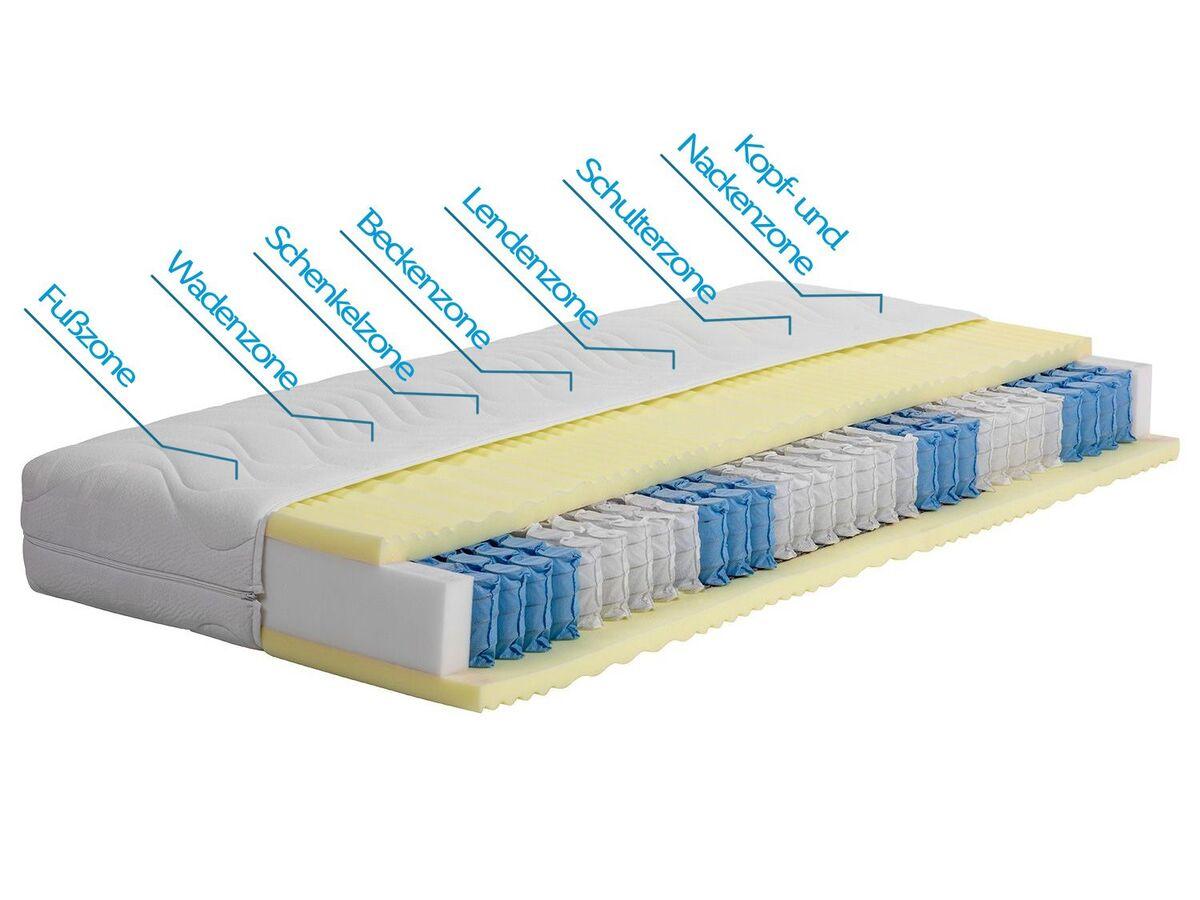 Bild 2 von BeCo 7-Zonen Taschenfederkern-Matratze »Pro Aktiv Gloria«, XXL-Matratze, lange Lebensdauer