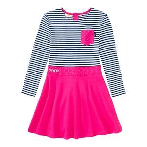 Mädchen-Kleid mit Brusttasche