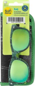 SUNDANCE Sonnenbrille für Kinder mit passendem Etui Grün
