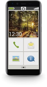 SMART.3mini Smartphone schwarz