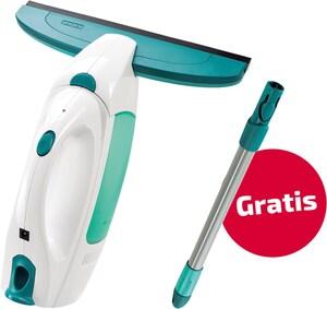 Dry&Clean mit gratis Stiel Fenstersauger weiß/türkis