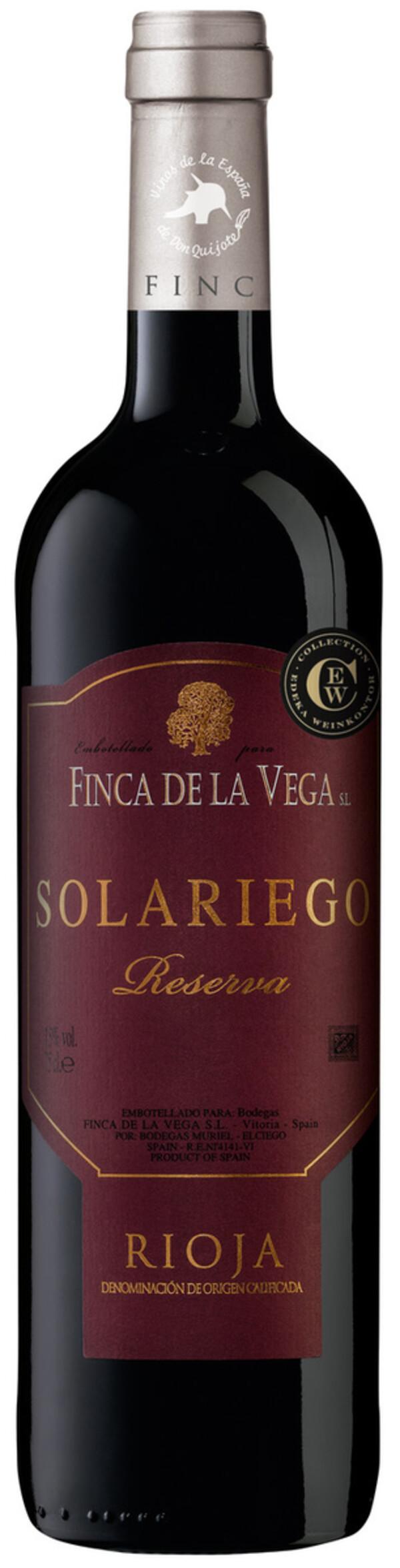 Finca de la Vega Rioja Reserva 2014 0,75 ltr