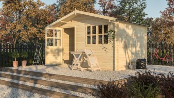 Weka Gartenhaus Lio Gr.2 natur