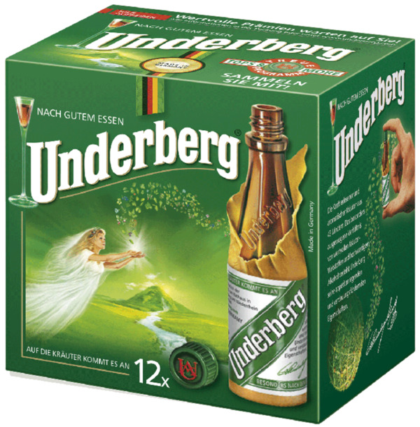 Underberg Kräuter-Bitter 12x 20 ml