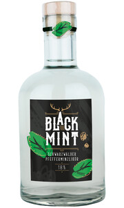 Black Mint Schwarzwälder Pfefferminzlikör 0,5 ltr