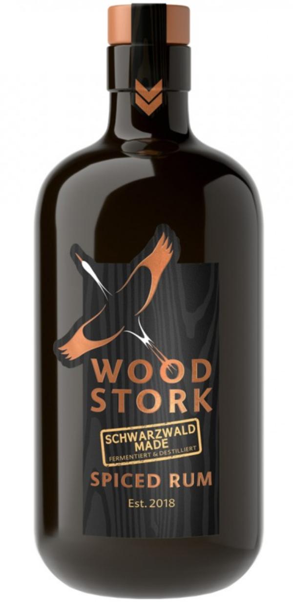 Wood Stork Schwarzwald Made Spiced Rum 0,5 ltr