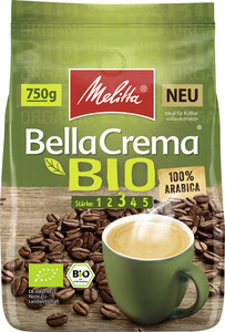 Melitta Bio Bellacrema ganze Bohnen 750 g