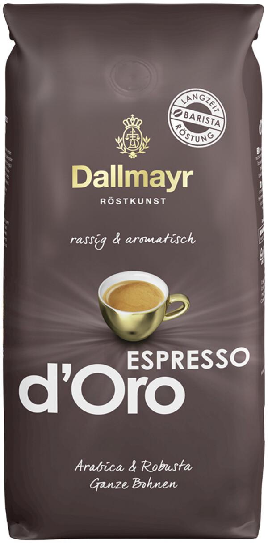 Dallmayr Espresso d'Oro ganze Bohnen 1 kg