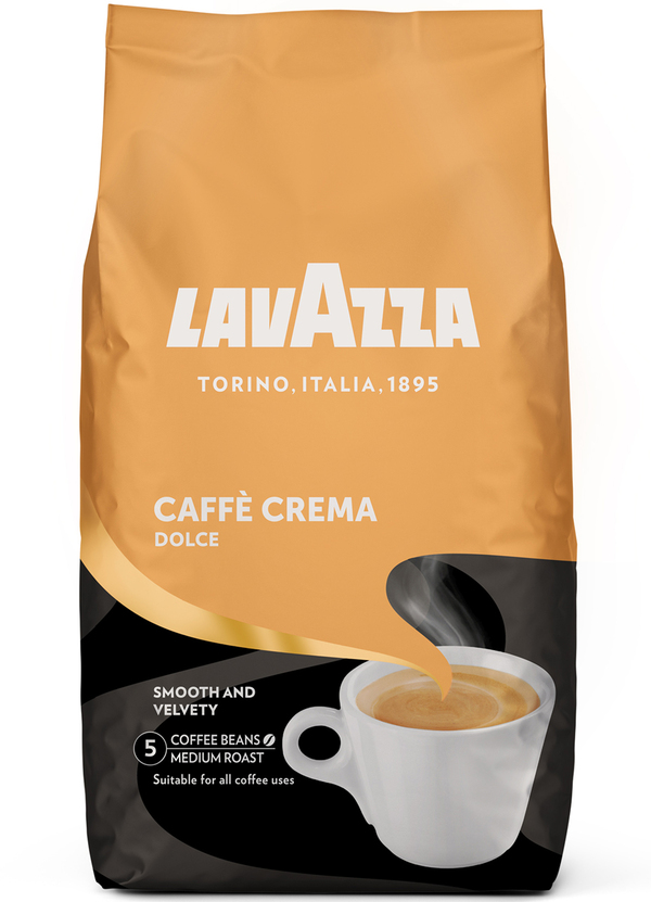 Lavazza Caffe Crema Dolce ganze Bohne 1 kg