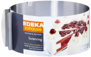 EDEKA zuhause Tortenring aus Edelstahl 1 Stück