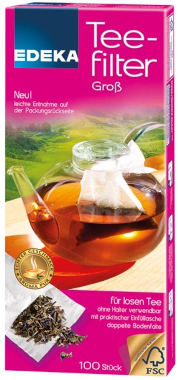 EDEKA Teefilter Groß 100 Stück