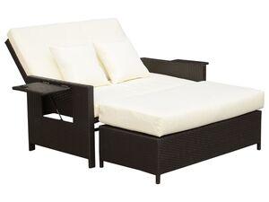 Outsunny Lounge-Sofa mit Kissen