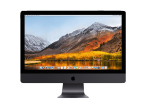 APPLE iMac Pro MQ2Y2D/A-160791 mit internationaler Tastatur All-In-One PC mit Xeon W & 32 GB RAM in Space Grau