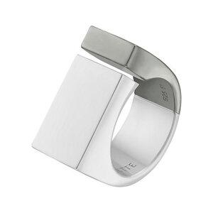 JETTE Silver Damenring 86808455