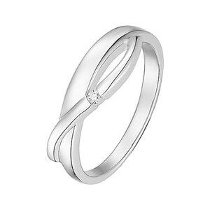 CHRIST Silver Diamonds Damenring 87471756