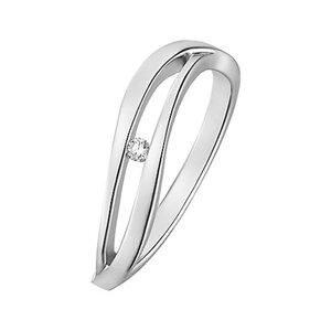CHRIST Silver Diamonds Damenring 87471632