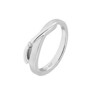 CHRIST Silver Diamonds Damenring 87471781
