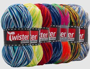 Strickgarn Twister Sport 500 Color