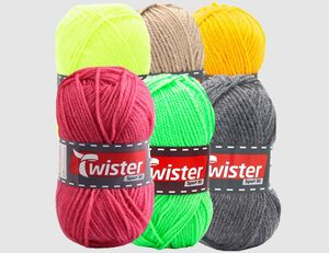 Strickgarn Twister Sport 50