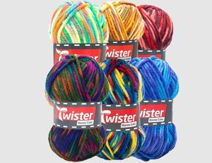 Strickgarn Twister Monza Color