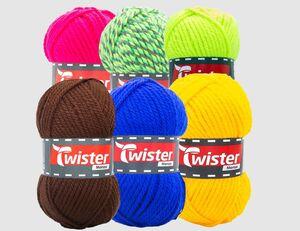 Strickgarn Twister Monza