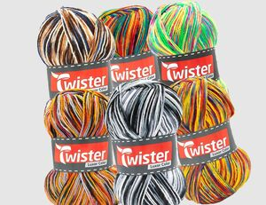 Strickgarn Twister Luxor Color