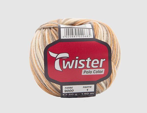 Strickgarn Twister Polo Color