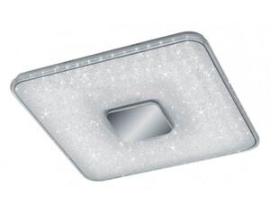 LED-Deckenleuchte 628890100 CCT 52 x 52 cm Kristalleffekt