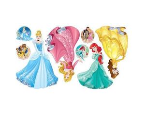 Wandsticker Disney Prinzessin