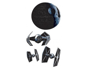 Wandsticker Star Wars Raumschiffe