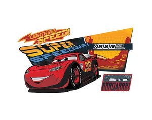 Wandsticker Cars Lightning McQueen