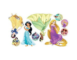 Wandsticker Disney Prinzessinnen
