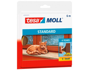tesamoll® Universal Schaumstoff ca. 6 m x 9 mm x 4 mm braun