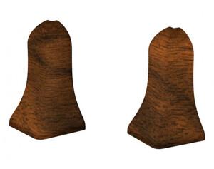 Außenecken für Laminatleisten, Nussbaum Classic, ca. 40 mm hoch