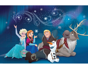 Keilrahmenbild Disney ca. 60x90cm Frozen