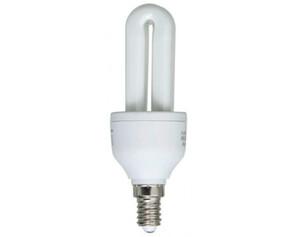 Energiesparleuchtmittel 2U E14 7 Watt