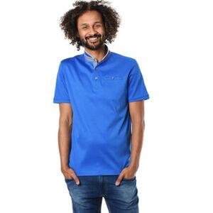 Dunmore Stehkragen-Shirt, Poloshirt Look, für Herren