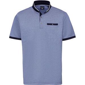 Dunmore Stehkragen-Shirt, 3-Tone, Poloshirt Look, für Herren