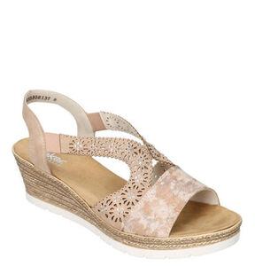 Rieker Sandalen, Steinchen, für Damen