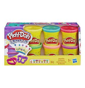 Play-Doh Glitzerknete, 8er-Pack