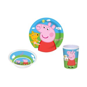 Peppa Pig - Ess-Set, 3 tlg.