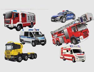 Wandtattoo Trucks