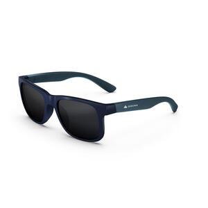 Sonnenbrille Wandern MHT140 Kategorie3 Kinder ab 10Jahren grau